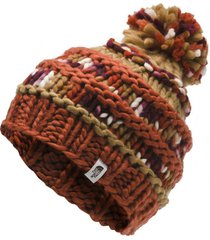 gorro nanny knit naranja the north face