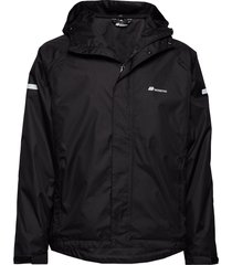føyno 2-layer teachnical rain jacket outerwear sport jackets svart skogstad