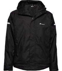 føyno 2-layer teachnical rain jacket outerwear sport jackets svart skogstad
