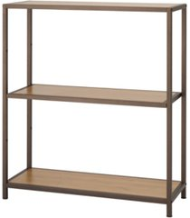 trinity 3-tier bamboo shelving rack