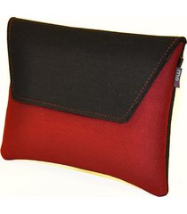 kopertówka black&red