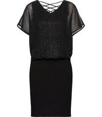 dresses light woven kort klänning svart esprit casual