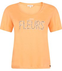 tramontana t-shirt apricot