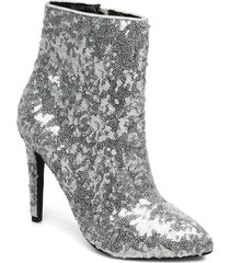 biabernia ankle boot shoes boots ankle boots ankle boot - heel silver bianco