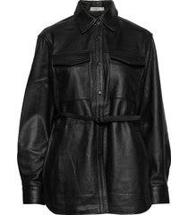 blindie overhemd met lange mouwen zwart tiger of sweden jeans