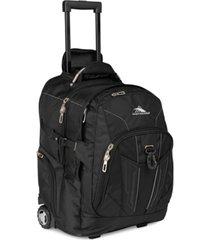 high sierra xbt rolling laptop backpack