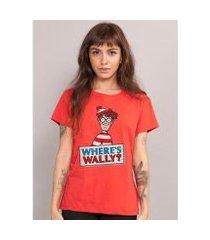 camiseta bandup wally where's wally?