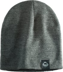 wolverine knit beanie charcoal heather, size one size