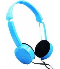 fe-111 plegables audífonos para juegos con cable-azul