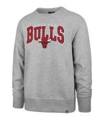 '47 brand men's chicago bulls varsity block headline crew sweatshirt
