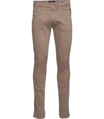 anbass skinny jeans beige replay