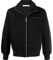 1017 alyx 9sm embroidered logo jacket - black