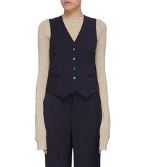 'agnese' virgin wool waist coat