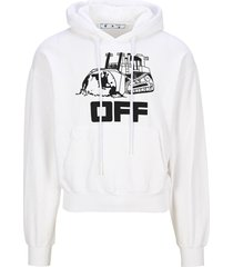 off-white off white world caterpillar hoodie