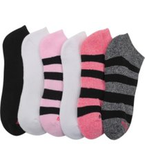 women's athletic low-cut socks, pack of 6
