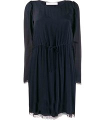 see by chloé see by chloé long-sleeve shift dress