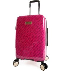 "juicy couture cassandra 21"" spinner luggage"