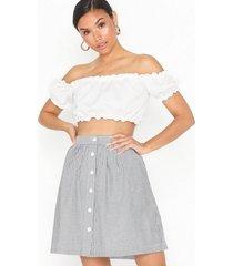 calvin klein jeans oxford short skirt minikjolar