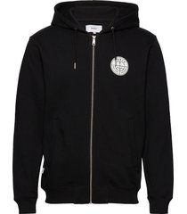 esker hooded sweatshirt hoodie trui zwart makia