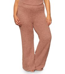 skims cozy knit pants, size 2x in rose clay at nordstrom