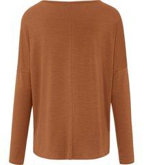 shirt met lange mouwen van day.like bruin