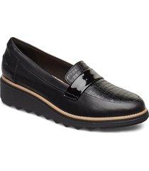 sharon gracie loafers låga skor svart clarks