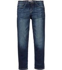 jeans powerstretch  taglio comfort slim fit straight (blu) - john baner jeanswear