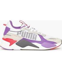puma rs-x bold sneakers vit/lila