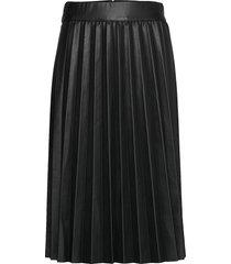 new skin stelpa knälång kjol svart mads nørgaard