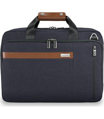 men's briggs & riley kinzie street rfid pocket convertible laptop briefcase/backpack -