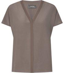 ariana silk blouse
