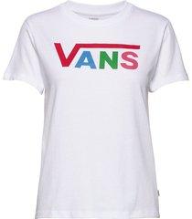 flying v crew tee t-shirts & tops short-sleeved vit vans