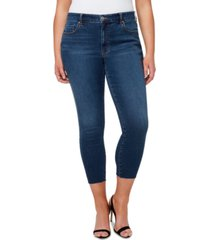 jessica simpson trendy plus size adored skinny ankle jeans