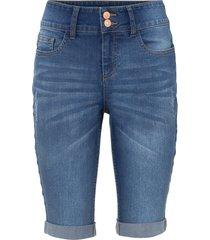 bermuda in jeans (blu) - bodyflirt
