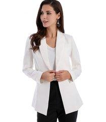 blazer clásico blanco nicopoly