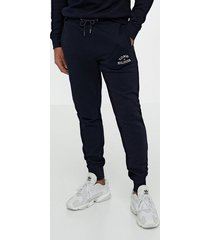 tommy hilfiger basic embroidered sweatpants byxor desert