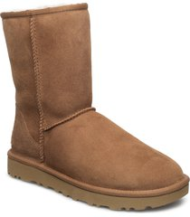 w classic short ii shoes boots ankle boots ankle boot - flat brun ugg