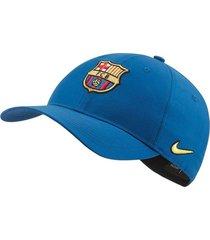 gorra nike fcb dry l91-azul
