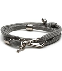 pulseira key design - azzam grey
