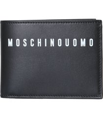 moschino bifold wallet