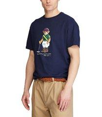 camiseta azul oscuro-multicolor polo ralph lauren