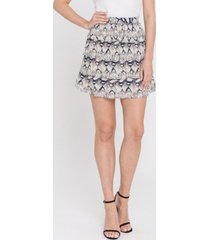 endless rose snake-print ruffled skirt