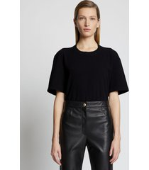 proenza schouler eco cotton t-shirt black xl