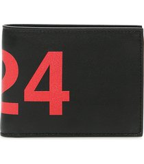 fourtwofour on fairfax bifold wallet with logo