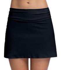 profile by gottex tutti frutti high-waist swim skirt women's swimsuit