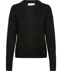 lofty yarn cn gebreide trui zwart calvin klein jeans