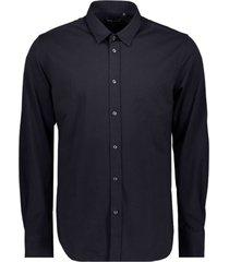 antony morato shirt on jersey fabric blue ink 7073
