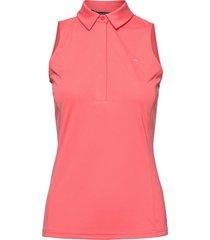 dena sleeveless golf top t-shirts & tops sleeveless roze j. lindeberg golf