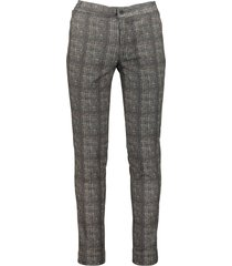 hensen pantalon mix & match - slim fit -grijs