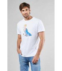 camiseta pica pau principe reserva masculina - masculino